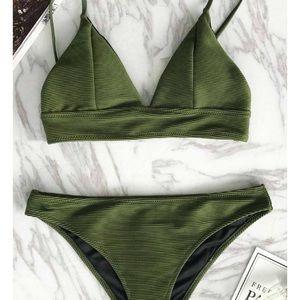 Other - New Army Green Cupshe Bikini S